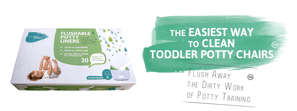 flushable potty liners