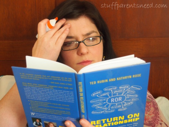 Tiffany from Stuff Parents Need reading Return on Relationship
