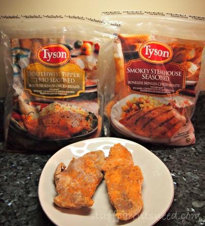 Tyson #InspireMyDinner bags