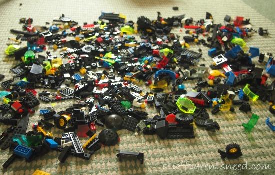 too many LEGOS! LEGO Storage