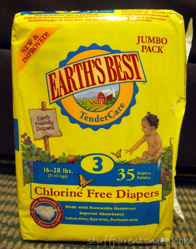 eco-friendly disposable diapers from Earth's Best