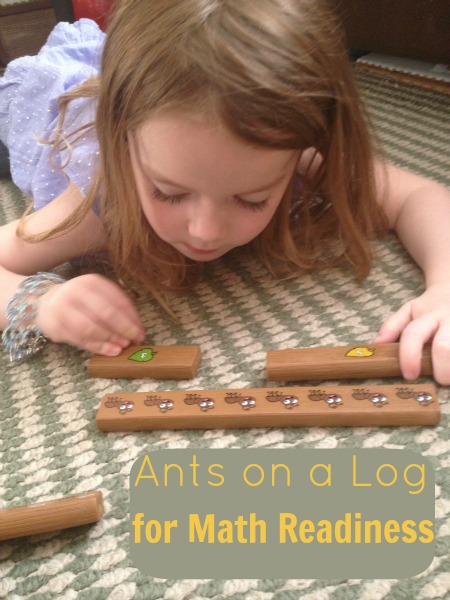 ants on a log counting rods