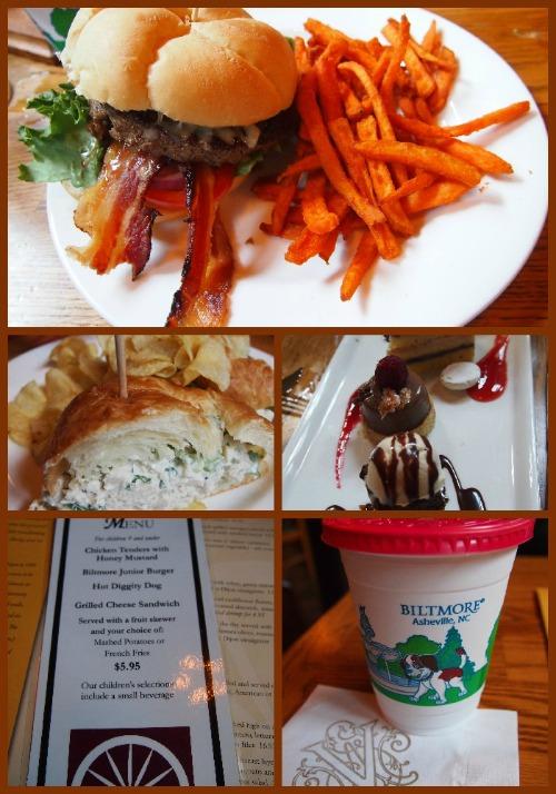 biltmore review: food
