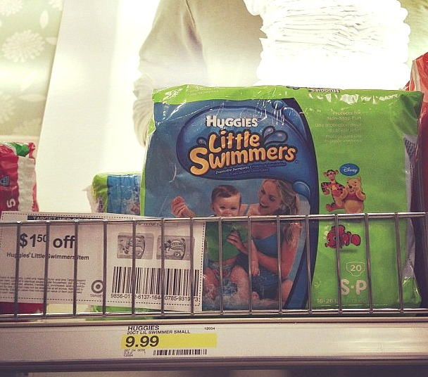 huggies little swimmers and coupon