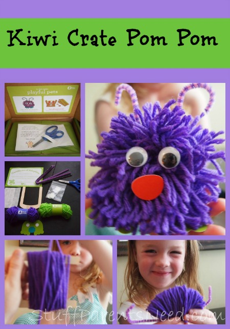 kiwi crate pom pom tutorial craft subscription