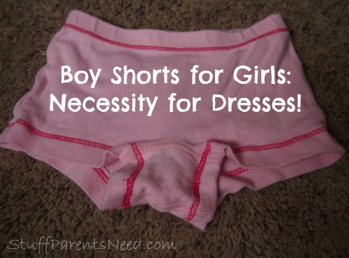 boy shorts for girls