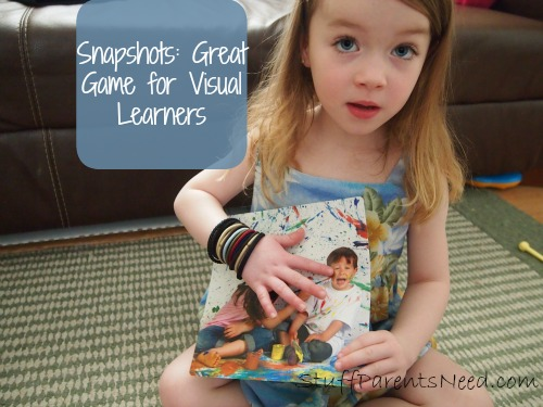 critical thinking and visual learning game: snapshots