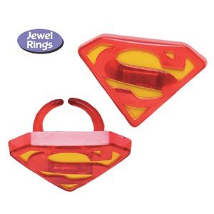 superhero rings cupcake topper