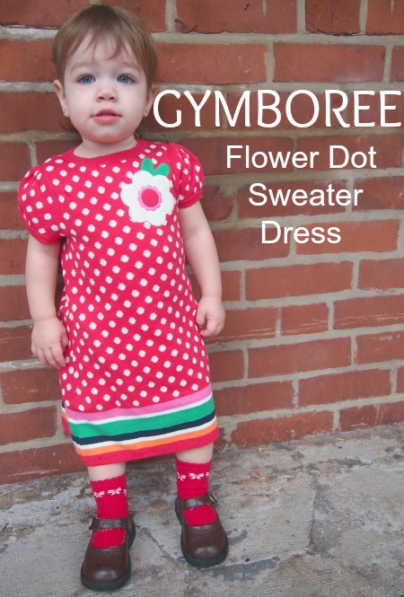 gymboree flower dot dress