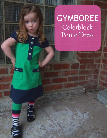 gymboree colorblock dress