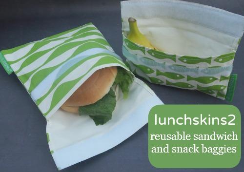 lunchskins reusable sandwich bag