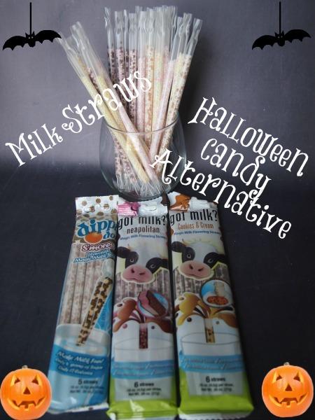milk straws halloween ideas