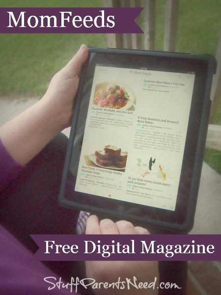 momfeeds digital magazine from weight watchers