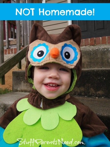 not homemade costume owl