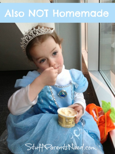 not homemade Cinderella costume