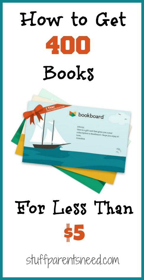 cheap books for kids bookboard gift certificate