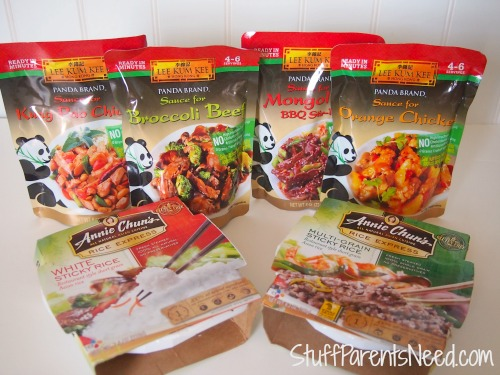 panda brand ready sauces
