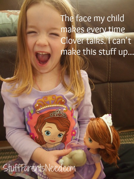 sofia the first talking doll and animal friends 1