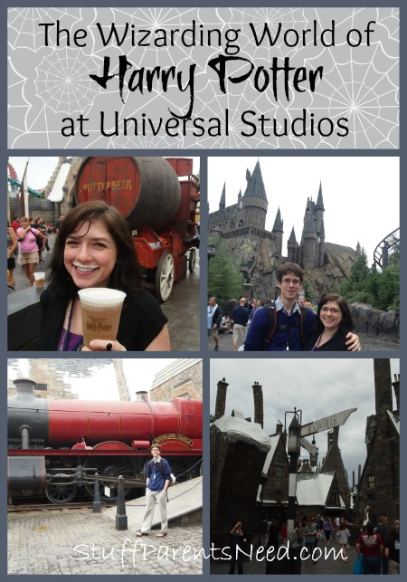 universal harry potter collage