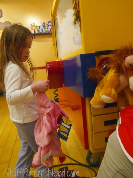 stuffing at build a bear