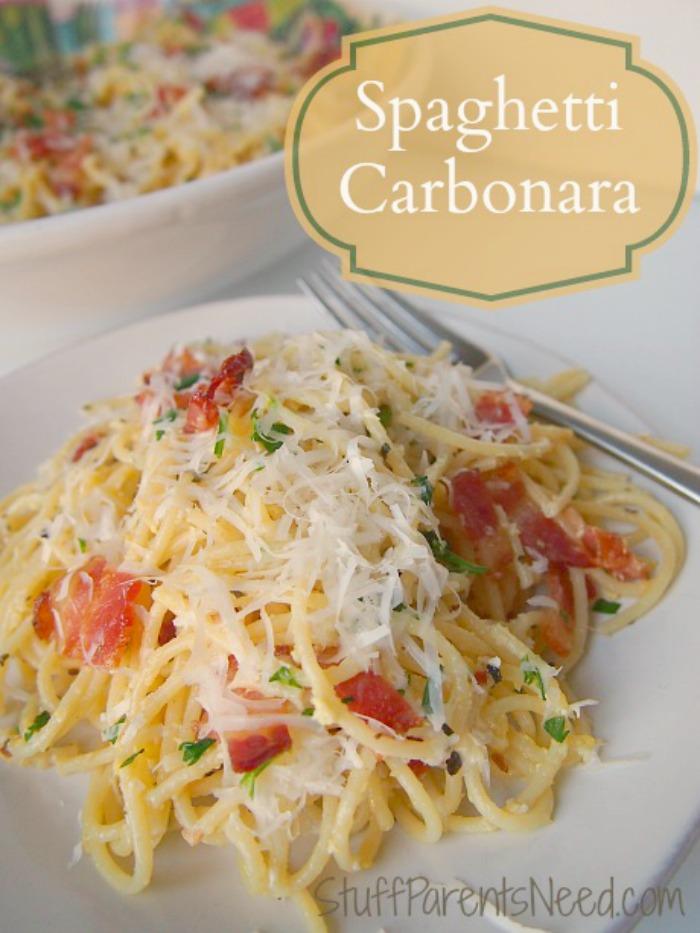 best spaghetti carbonara recipe