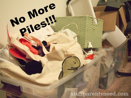 pile of stuff, disorganized