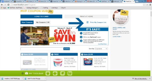 food lion coupon portal