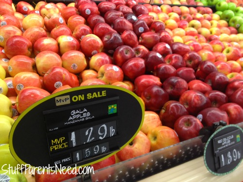 apples on sale at food lion