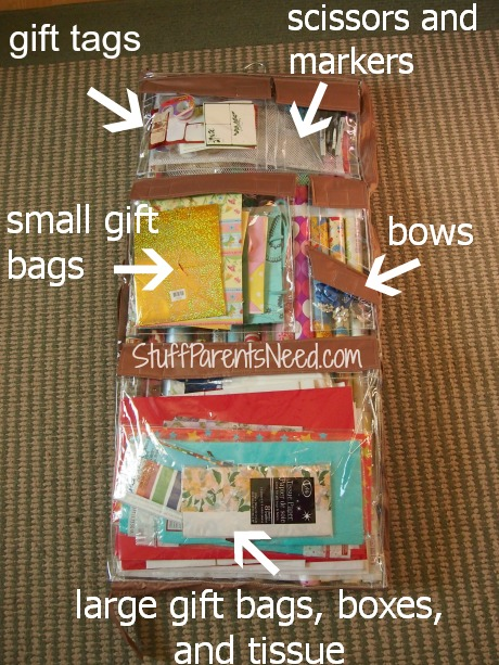 wrap it wrapping paper storage