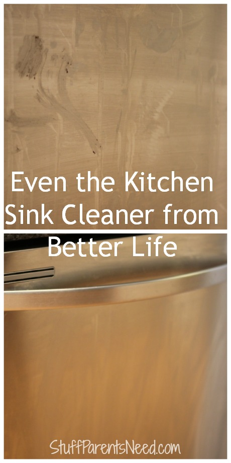 better life cleaner even the kitchen sink