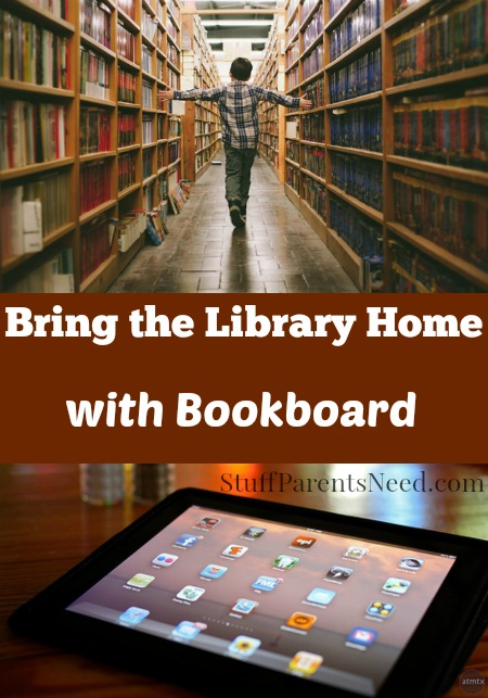 bookboard bring the library home