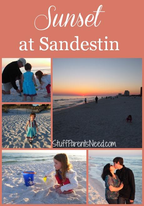 sunset at Sandestin