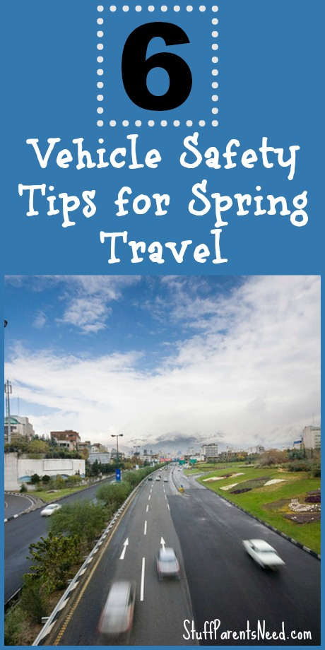 6 vehicle tips for spring travel