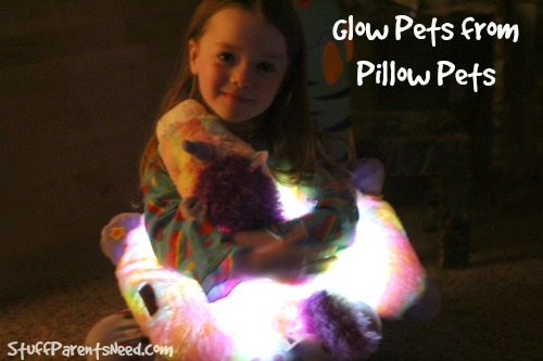 glow pets from pillow pets
