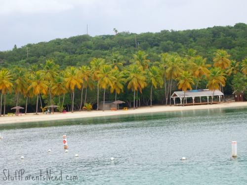 private beach U.S. Virgin islands