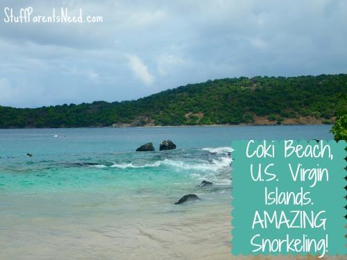 coki beach u.s. virgin islands