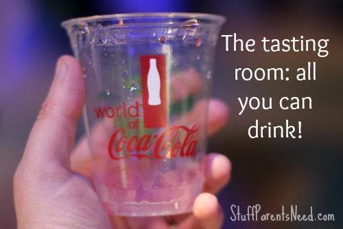 world of coca cola tasting room