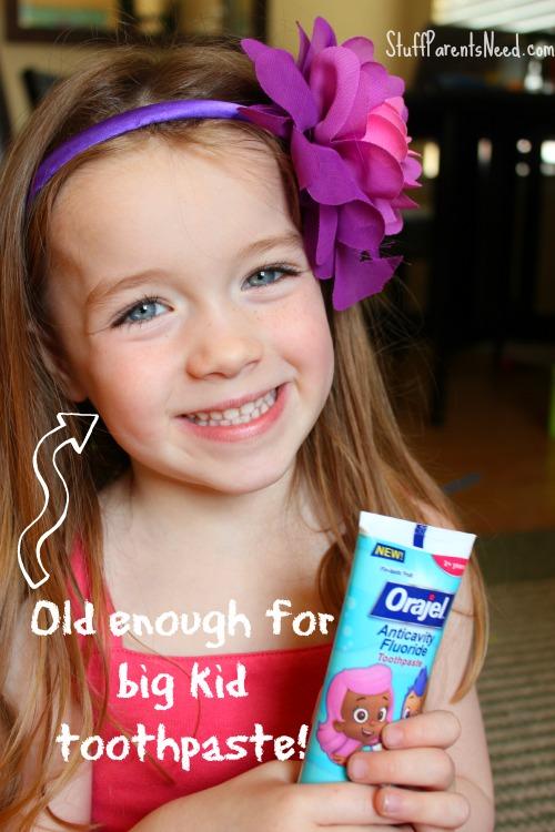 orajel anticavity fluoride toothpaste
