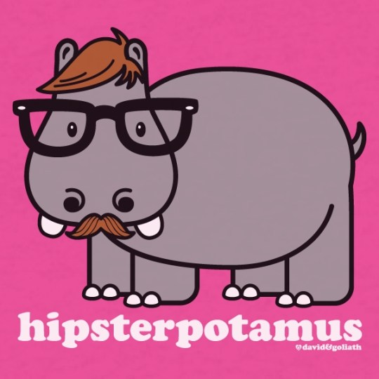 hipsterpotamus image