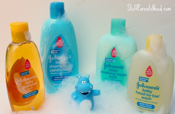 johnson's baby new and improved products