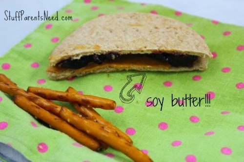 soy butter sandwich