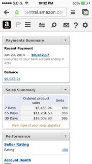 amazon seller earnings work at home
