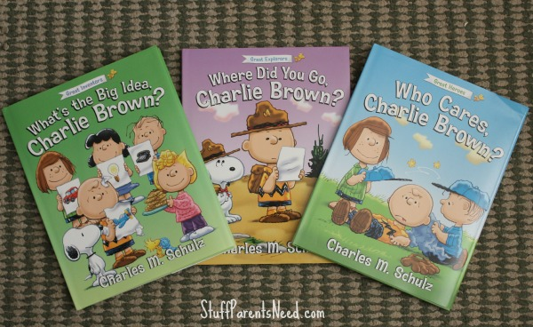 charlie brown books