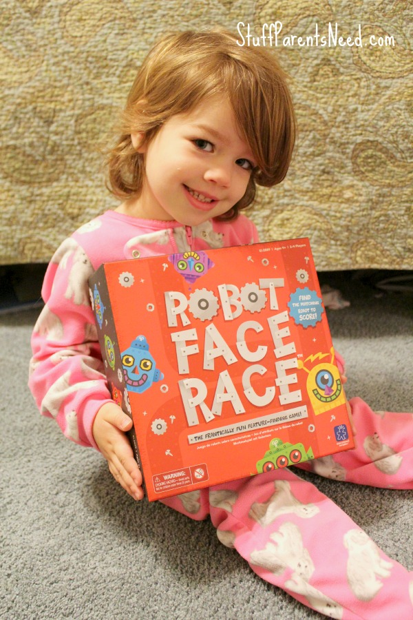 robot face race concentration game 1