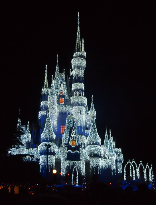 frozen castle disney world
