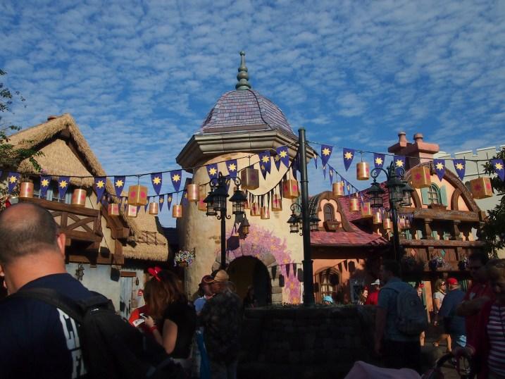 rapunzel's village