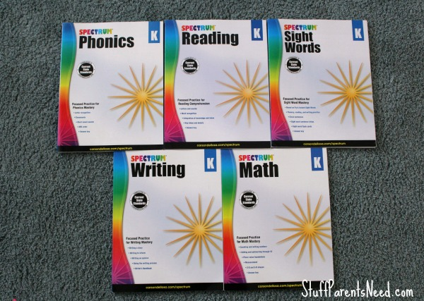 spectrum workbooks 1