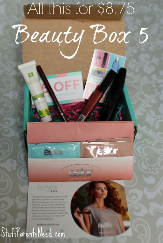 march beauty box 5 review 1