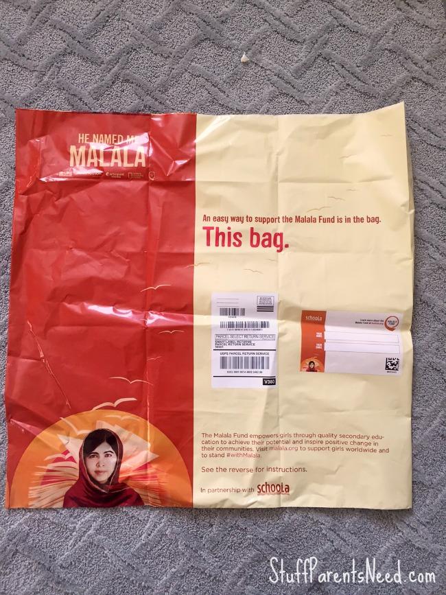 malala donation bag