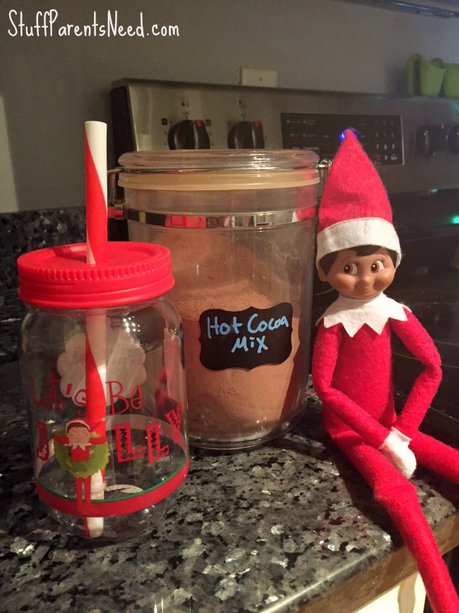 elf on the shelf tumbler